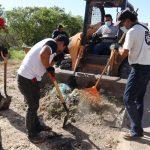 Saneamiento y Descacharrización en la Caleta